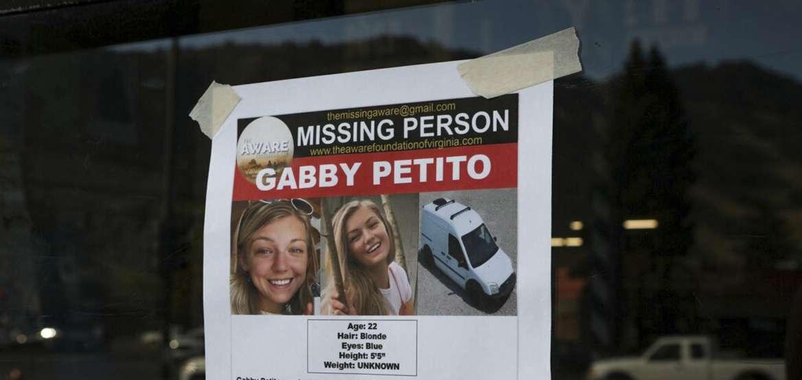Εντοπίστηκε σορός που φέρεται να ανήκει στην Gabby Petito- Παραμένει αγνοούμενος ο αρραβωνιαστικός της