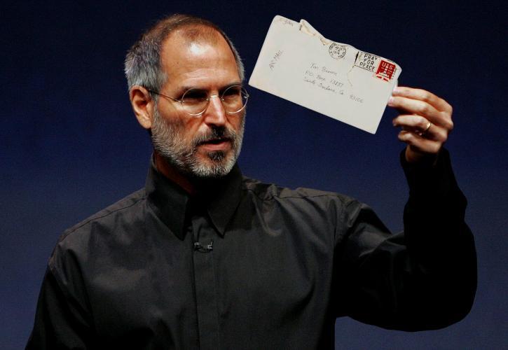 200.000 δολάρια για ένα γράμμα από τον Steve Jobs - Σε ποιον απευθυνόταν και τι έλεγε